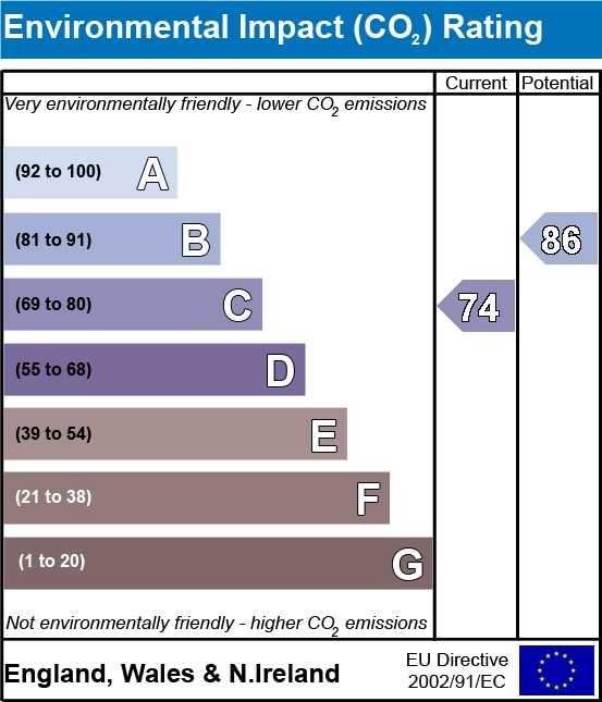Environmental Impact Rating for property