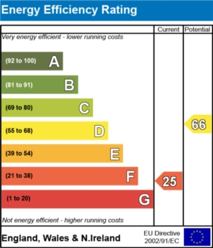 Energy Efficiency Report - currently 25 and could be 66