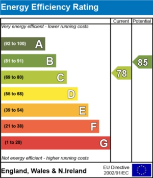 Energy Efficiency Report - currently 78 and could be 85