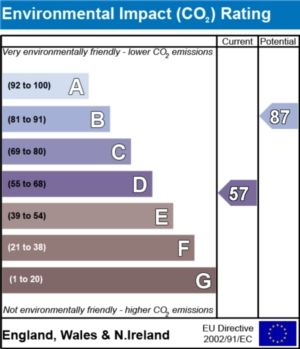 Environmental Impact (CO2) Report  - currently 57 and could be 87