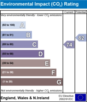 Environmental Impact (CO2) Report  - currently 74 and could be 82