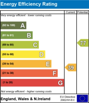 Energy Efficiency Report - currently 39 and could be 77