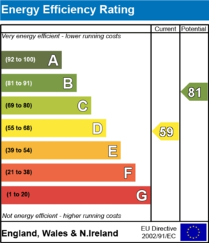 Energy Efficiency Report - currently 59 and could be 81