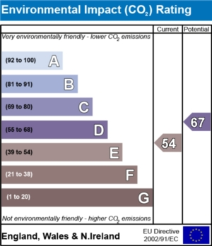 Environmental Impact (CO2) Report - currently 54 and could be 67