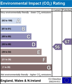 Environmental Impact (CO2) Report - currently 56 and could be 67