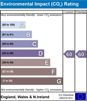 Environmental Impact (CO2) Report - currently 60 and could be 60